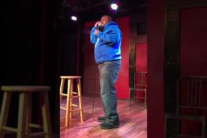 Brandon Johnson Stand Up Comedy Set from Unplanned Comedy Theater